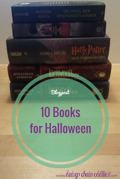 This is a list of 10 books to read on Halloween. These halloween reads include some classics such as Dracula but also some newer titles, both YA and Adult. Daisy Chain, Halloween Halloween, Frankenstein, Dracula, Vampires, Ghosts, Cosy, Monsters, Nerdy