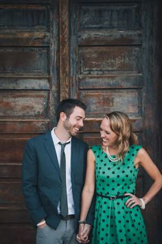 Engagement session in The West Bottoms - Mark Nagel Portraits: Kansas City Wedding Photography