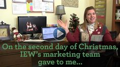 On the second day of Christmas, IEW gave to me...
