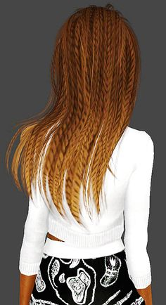""" NewSea Aphrodite Braided {The Sims 3} Credit: NewSea, Trapping D r o p b o x 