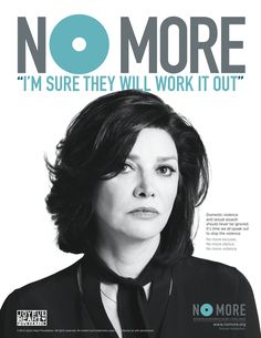 #NOMOREexcuses for domestic violence and sexual assault. October is Domestic Violence Awareness Month - share the NO MORE PSA ads today! #DVAM #DVAM2014