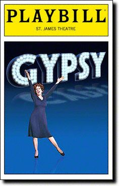Playbill Cover for Gypsy at St. James Theatre - Opening 2008