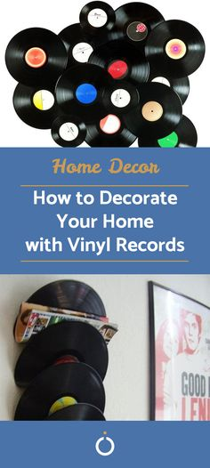 Let's be honest, some records don't stand the test of time as well as others. For this reason, you may have some records you want to get rid of. Instead of giving them away, here are some ideas you can use to decorate your home with leftover records.