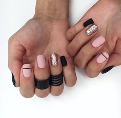 65 Ideas Gel Manicure Colors Winter Rose Gold For 2019 Oxblood Nails, Maroon Nails, Burgendy Nails, Magenta Nails, Nails Turquoise, Rose Gold Nails, Green Nails, Manicure Colors, Nail Colors
