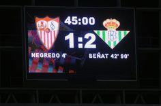 Sevilla 1 - Real Betis Balompie 2