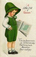 Free Vintage St. Patricks Day Greeting Cards: Cute Kids