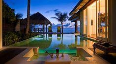 Naladhu Maldives by Anantara - Naladhu, Maldives I could spend a couple weeks here.