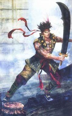 Gan Ning Illustration