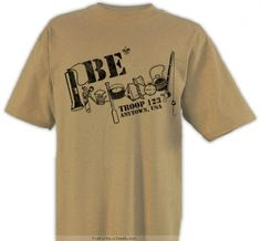 25630444b Be Prepared for anything - Boy Scout™ Troop Design SP1695 Boy Scout Shirt,  Boy