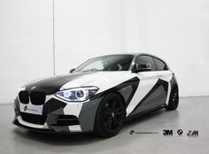 There's nothing quite like a custom camo wrap, so check out this BMW M135i in John Olson style camo wrap. This car will be at shows throughout 2017.