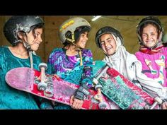 Photos: Forbidden from riding bikes, fearless Afghan girls are skateboarding around Kabul