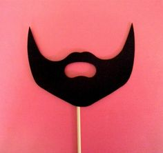 so much more than a mustache-on-a-stick . . . BEARD-on-a-stick!