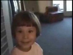 This brave and adorable 3 year old girl is not afraid of the monsters. In Fact she knows exactly what shes gonna do if she sees any monsters, just ask her.