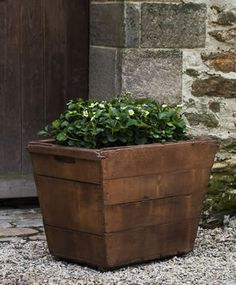 Vendange large cast stone Planter made by Campania International
