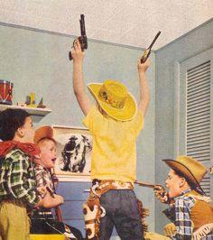 1950's - Cowboy Kids ( vintage / retro / western / kids )