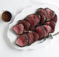 ... will rave about roasted beef tenderloin with henry bain sauce