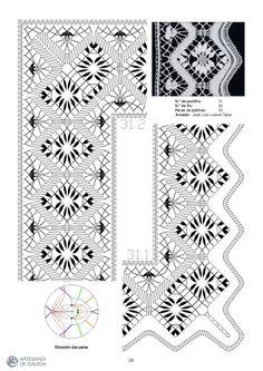 RAIZAME DO ENCAIXE GALEGO - Elena Corvini - Álbuns Web Picasa Bobbin Lace Patterns, Lacemaking, Album, Pattern Books, Textiles, Kids Rugs, Quilts, Sewing, Crafts