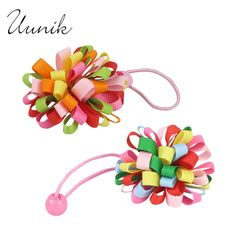 Uunik - Hairpins Rubber Bands&Clip Accessories Kid&Girl Child Ribbon…
