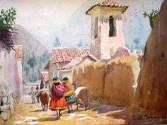 Calle del Pueblo Quiquijana
