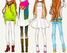 Anime Girl Fashion Tumblr