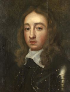 Follower of Robert Walker (? circa 1607-circa 1658 London) Portrait of a young man, possibly Richard Cromwell, bust-length, in armour