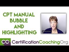 CPT Manual Bubble and Highlighting™ Technique Explained - YouTube