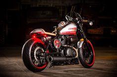 Yamaha Bolt XV950 Cafe Racer by Liberty Yam #motorcycles #caferacer #motos | caferacerpasion.com
