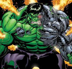 Cosmic Hulk A Hulk robot containing the Power Cosmic
