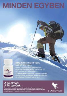 Forever Daily™ az egyik legjobb ásványi anyag szállító rendszer az AOS komplexnek köszönhetően. A szabadalmaztatott tulajdonságú formula 55 tápanyagot tartalmaz aloéval kombinálva, amelyek biztosítják a naponta szükséges vitaminokat és ásványi anyagokat. https://www.youtube.com/watch?v=TKBDgzJeT0A http://360000339313.fbo.foreverliving.com/page/products/all-products/2-nutrition/439/hun/hu Segítsünk? gaboka@flp.com Vedd meg: https://www.flpshop.hu/customers/recommend/load?id=ZmxwXzQ3ODA0
