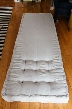 French tufted mattress DIY