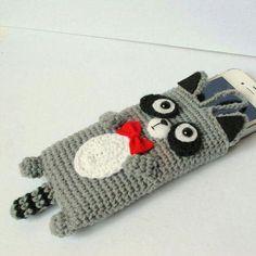 How to Crochet Mobile Cell Phone Pouch for iPhone Samsung - Crochet Ideas Clutch En Crochet, Crochet Pouch, Crochet Purses, Cute Crochet, Easy Crochet, Mobiles En Crochet, Crochet Mobile, Yarn Projects, Crochet Projects