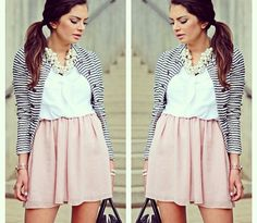 Preppy and pastel