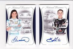 Auto Racing Cards 666: 2016 National Treasures Danica Patrick And Kevin Harvick Dual Auto Book 08 15 -> BUY IT NOW ONLY: $199.99 on eBay!