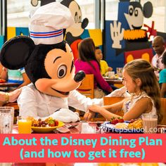 The Disney Dining Plan | Free Disney Dining | There are lots of questions about these (and a lot of confusion, too).  Is it worth it for you and your family?  Here are the details you need to know.