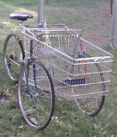 Plant a Seed Watch it Grow: Homestead Survival: HOW TO BUILD YOUR OWN CARTBIKE
