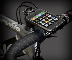Cool iPhone Accesory bike handle