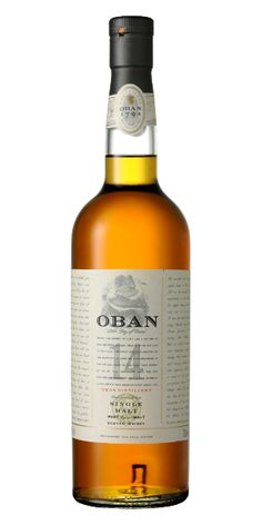 Oban 14 Year Old Highland Single Malt Scotch Whiskey
