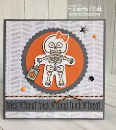 Stampin' Up! Cookie cutter Halloween, AEstamps a Latte...: Trick or Treat