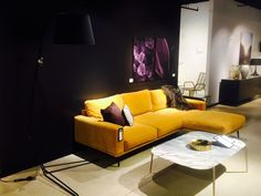 The Carlton, designed after luxury and high end furniture has been our inspiration for color this season. With elegant gold tones, and hints of black, white and purple, this is THE fall inspiration for Gold Futures, Boconcept, Autumn Inspiration, Sofas, Create Your Own, Product Launch, Couch, Fall 2016, Luxury