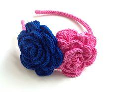 Diademas crochet. Sylvia Marie handmade.