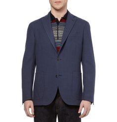 BoglioliDover Unstructured Herringbone Wool Blazer|MR PORTER