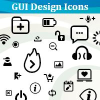 The Making of GUI Design Icons Font