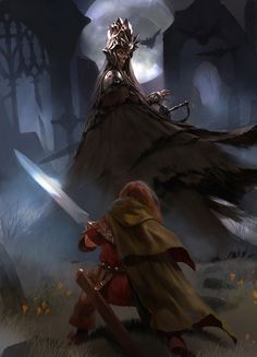 ..with my father's sword by Cryptcrawler.deviantart.com on @deviantART