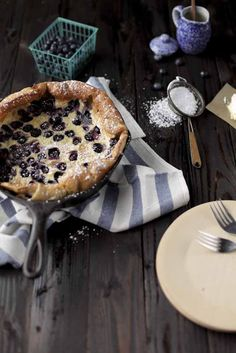 Always With Butter: blueberry dutch baby