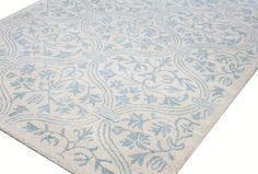 Contained Garden Hand-Tufted Ivory Area Rug