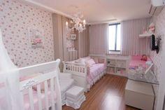 quarto de bebe floral