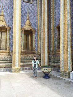 SHER SHE GOES - exploring the grand palace  Bangkok, Thailand