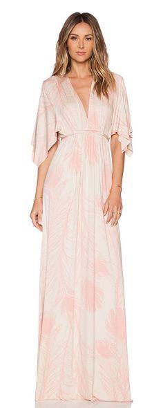 Caftan dress by Rachel Pally. 92% modal 8% spandex. Dry clean recommended. Waist tie closure. RACH-WD1159. SP15 785P. Rachel Pa...