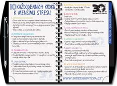 30ti denní výzva - Vychytávky Creating A Vision Board, School Psychology, Healthy Lifestyle Tips, Personal Development, Detox, Life Hacks, Health Fitness, Bullet Journal, Education