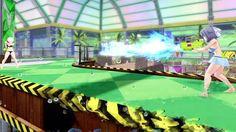 Cinco vídeos gameplay del juego Senran Kagura Peach Beach Splash.